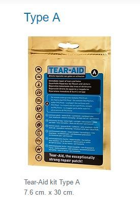 Tear Aid Bell Tent Repair For Tears And Holes Breathe